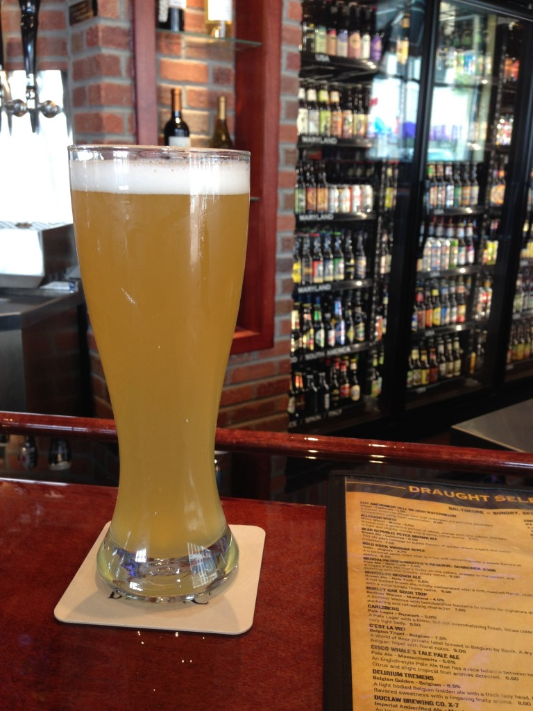 Wittekerke White Belgian Wheat Baltimore World of Beer