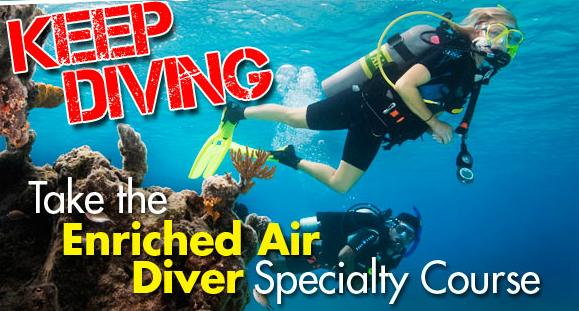 Enriched Air Specialty Course - PADI