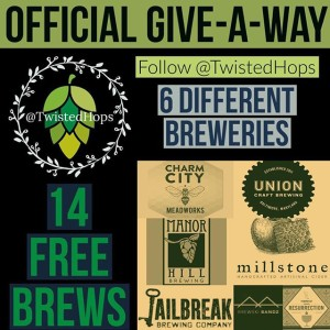 twisted hops official give a way